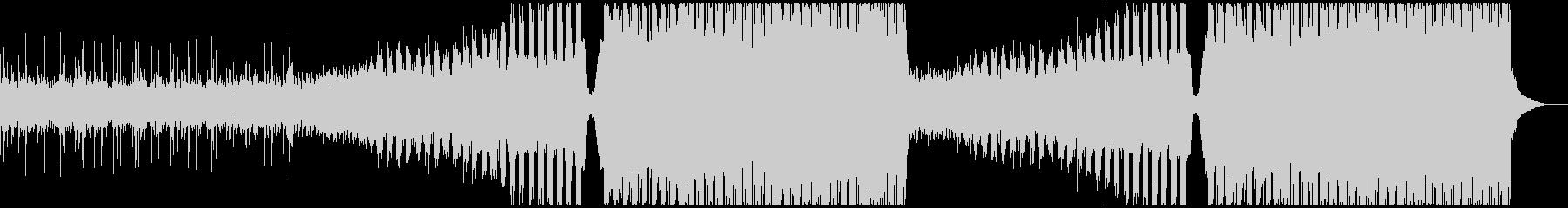 トロピカルの要素を取り入れたエレクトロの未再生の波形