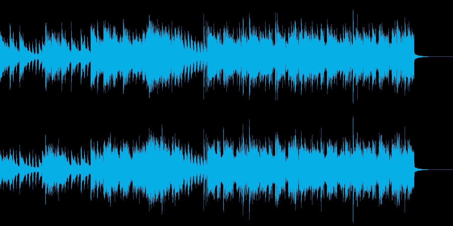 優しくおしゃれな変則ビートの再生済みの波形