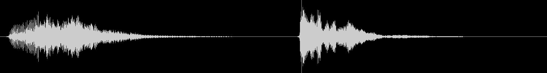 コルク栓やスクリューキャップを抜く音01の未再生の波形