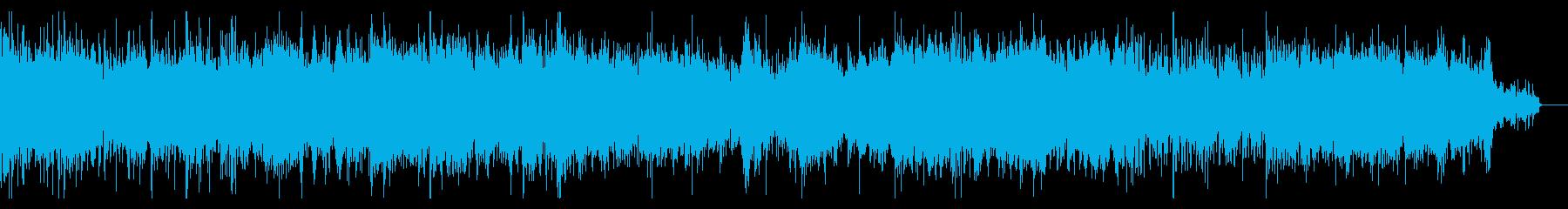 不思議に捻れたシネマティックIDMの再生済みの波形
