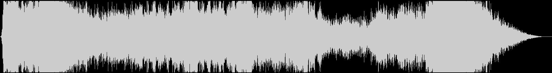 壮大なコーラスによるRPGボス戦闘曲の未再生の波形