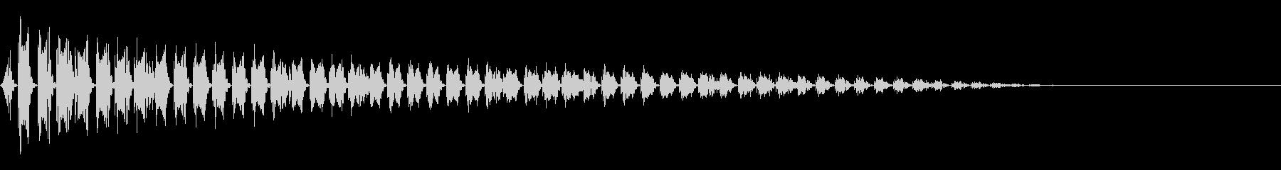 ピュードロドロ(ボス出現/死亡/レトロの未再生の波形