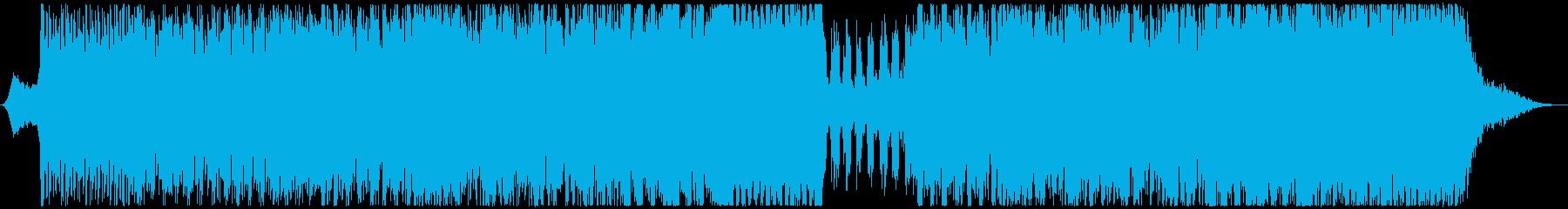 メトロポリスの再生済みの波形