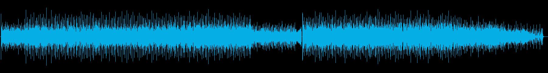 おしゃれポップな夏のBGMの再生済みの波形
