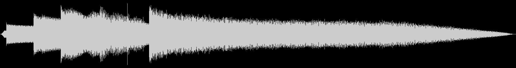 クリスタルベル伝送アクセストーンの未再生の波形
