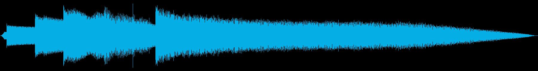 クリスタルベル伝送アクセストーンの再生済みの波形