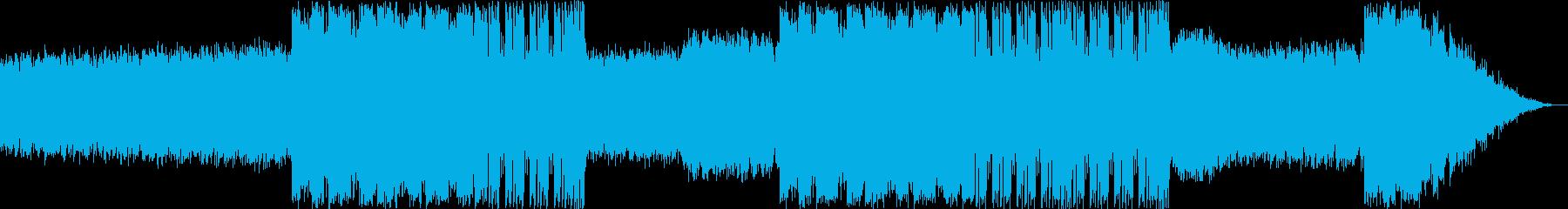 ウッドベースのメロディが印象的な曲の再生済みの波形