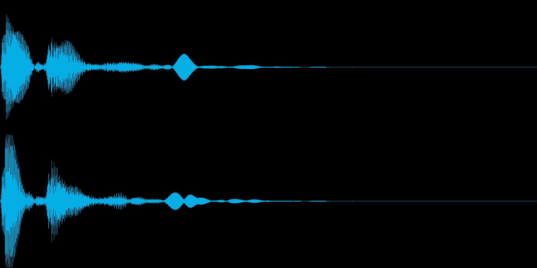システム音 メニュー 決定_01の再生済みの波形