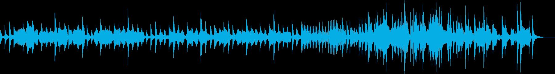 ピツィカートとオーボエの穏やかな曲の再生済みの波形