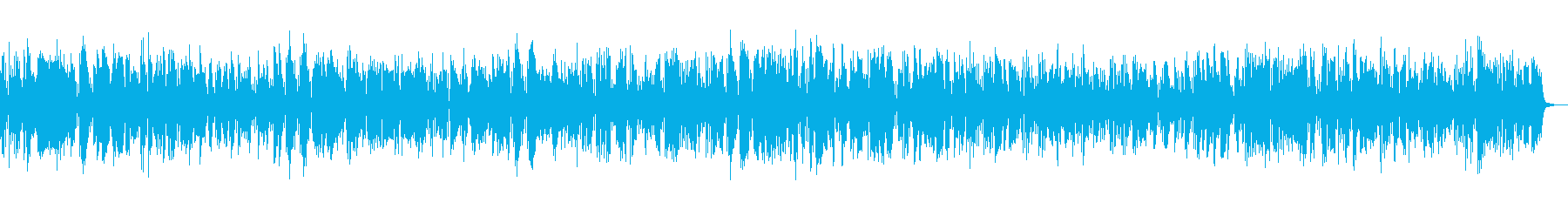 Clarinet Dixieland Jazz's reproduced waveform
