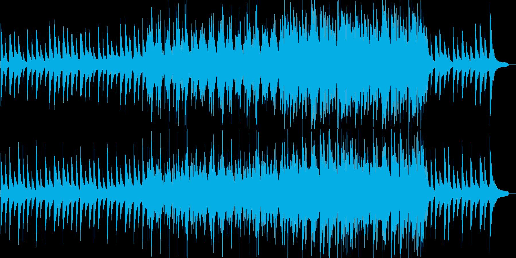感動的・切なさ・ピアノ・映像・イベント用の再生済みの波形