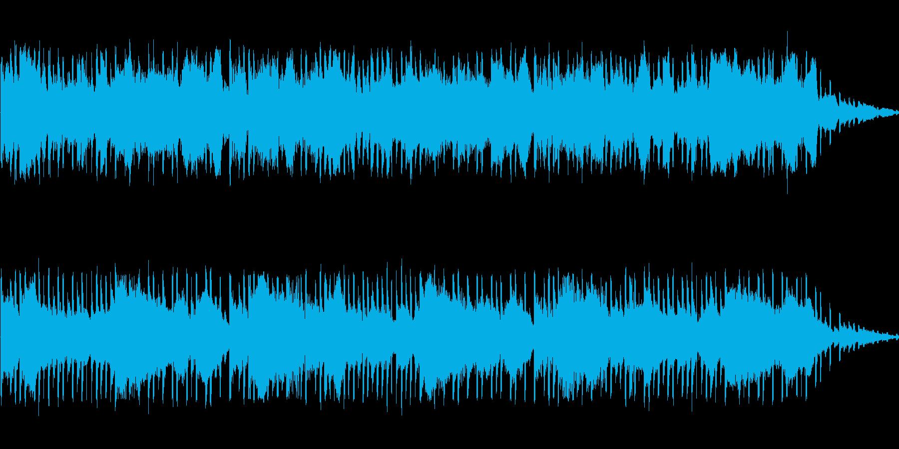空間的な音になっています。の再生済みの波形