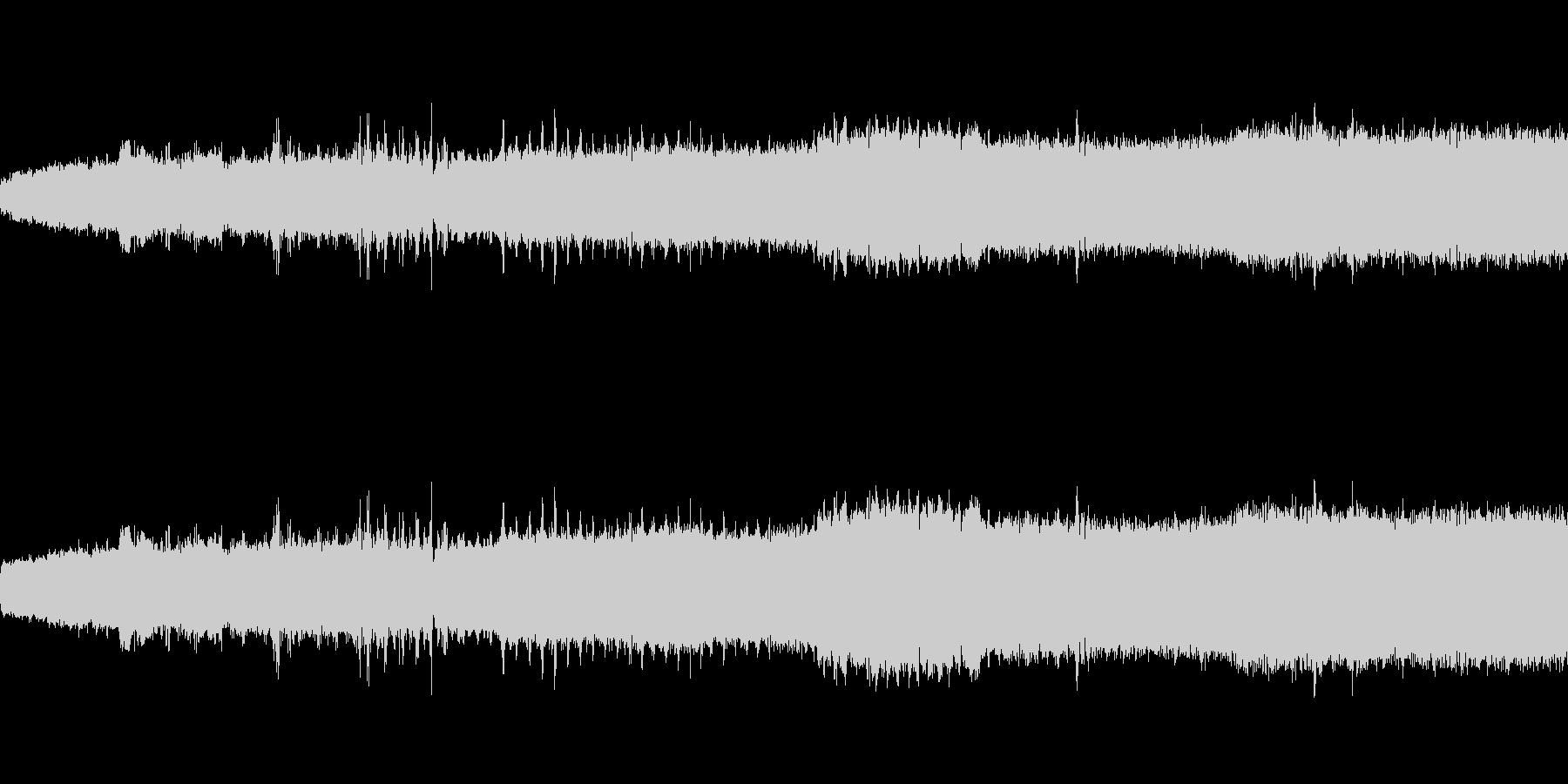 【生音】 電車 - 走行音 - 01の未再生の波形