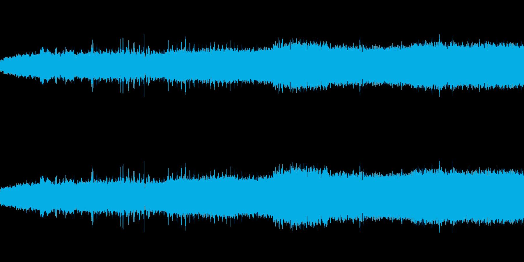 【生音】 電車 - 走行音 - 01の再生済みの波形