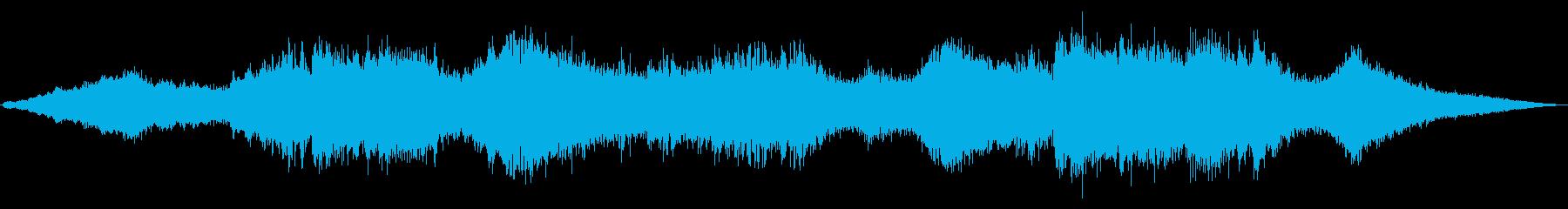 緩やかな上昇ピッチのメタルシフトヘ...の再生済みの波形