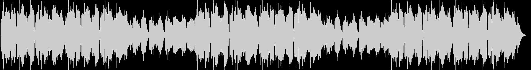 牧歌的なバラードの未再生の波形