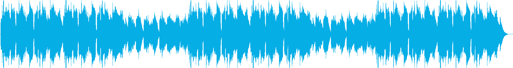 牧歌的なバラードの再生済みの波形