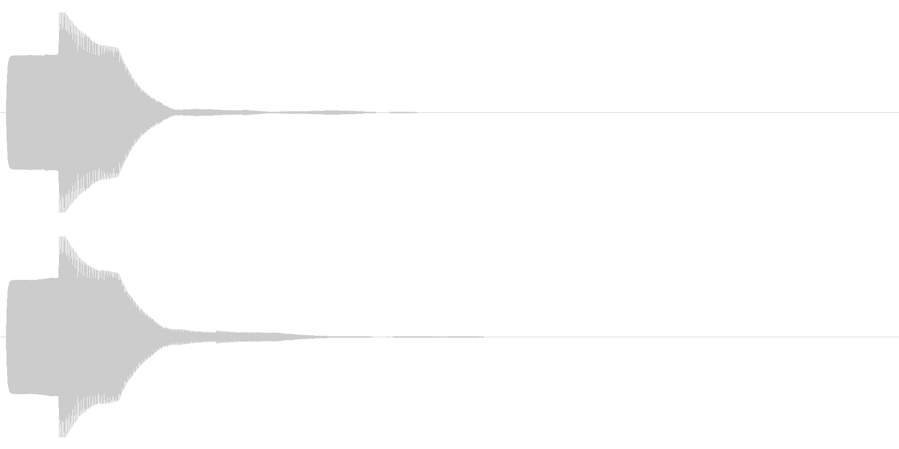ピコン(起動,通知,タップ,決定)_06の未再生の波形