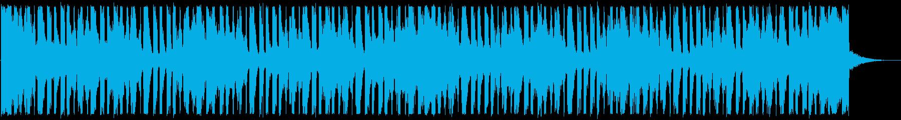 涼しげなディープハウス_No615_5の再生済みの波形
