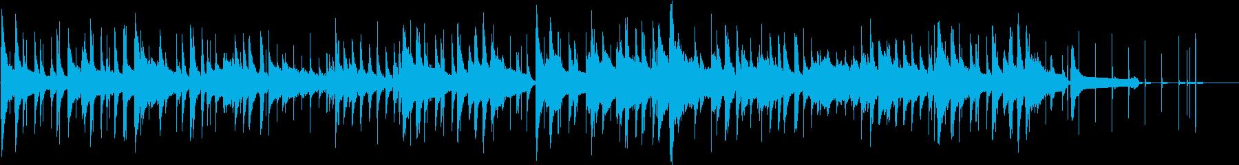 スモーキーなサウンドスケープを演出...の再生済みの波形