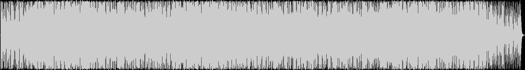 フュージョン サスペンス 説明的 ...の未再生の波形