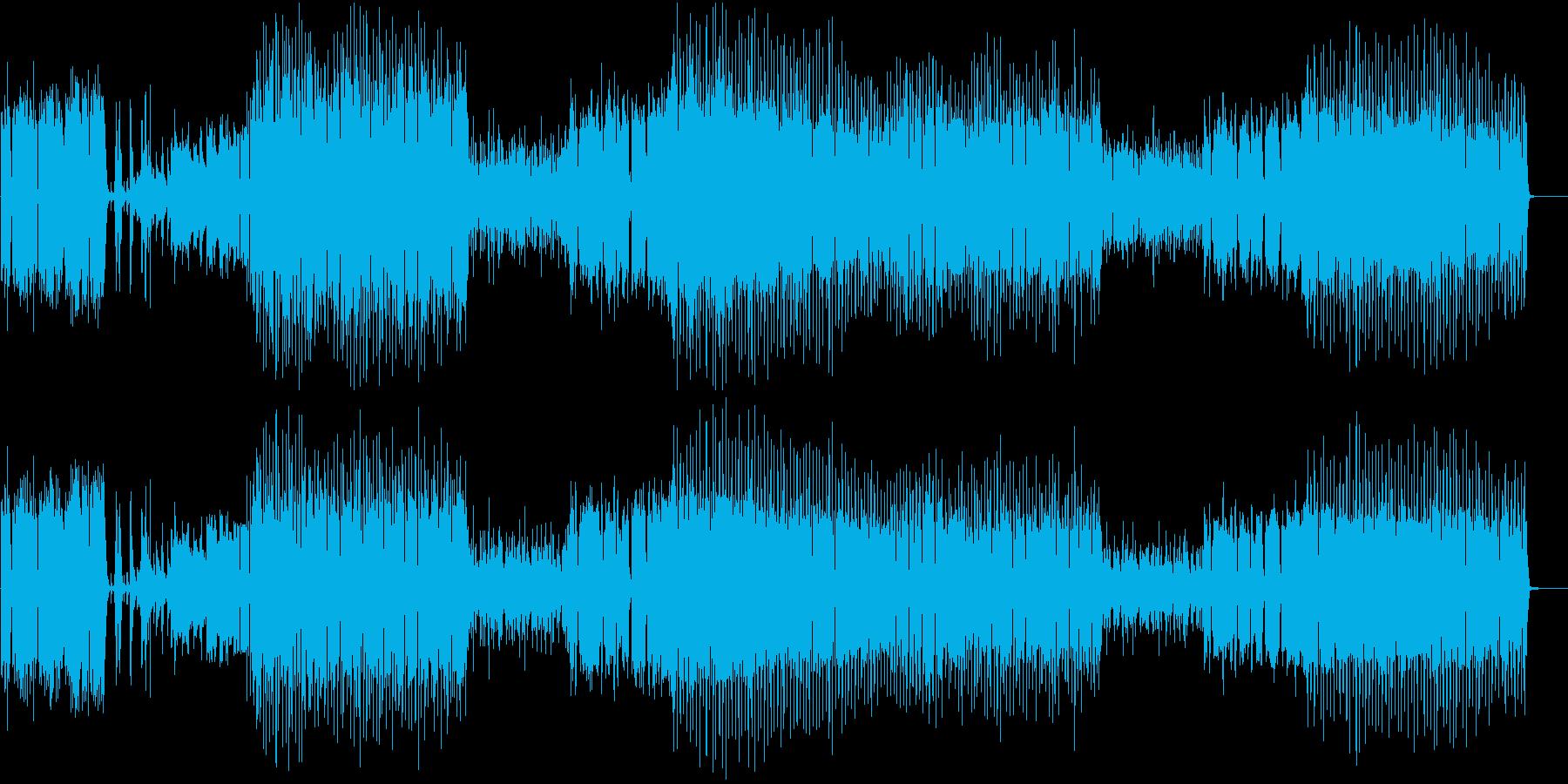 宇宙をイメージした奥行きあるBGMです。の再生済みの波形