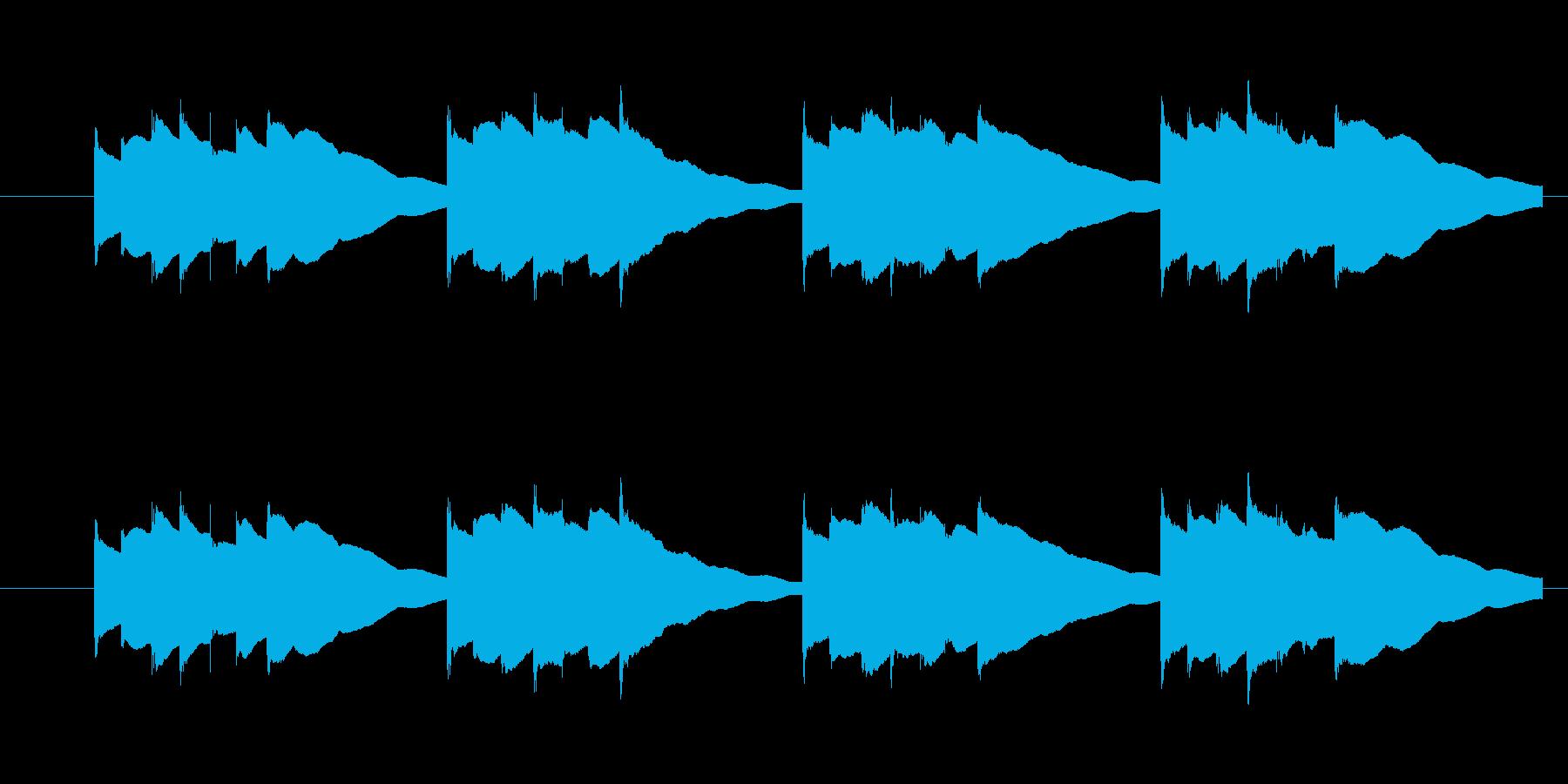 Kalimbellを使った効果音です。…の再生済みの波形