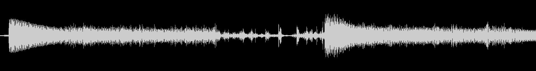 ビープ音06の未再生の波形