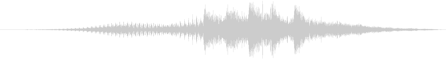 サウンドロゴ 2秒 電子 機械 企業の未再生の波形