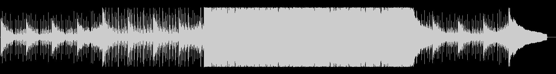 前向きで力強いコーポレートロックの未再生の波形