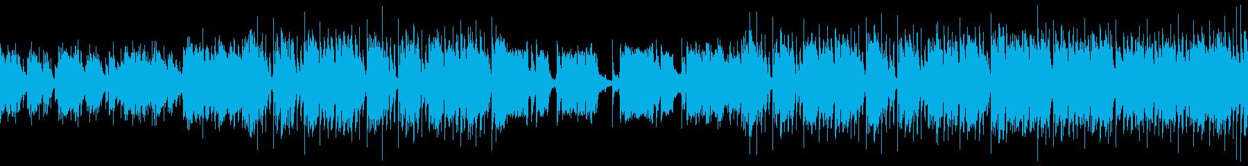 おしゃれでリラックスした映像用ジャズの再生済みの波形