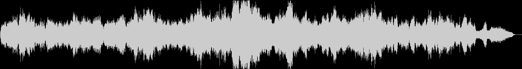 バッハ平均律クラヴィーア曲集_カルテットの未再生の波形
