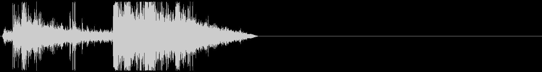 ホッケー;シングルスラップショット...の未再生の波形