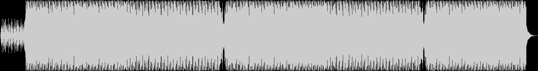 キャッチーでおしゃれなニューディスコの未再生の波形