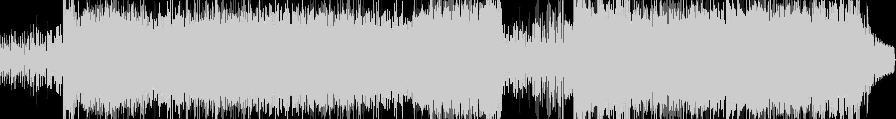 速いテンポのドラムンベースの未再生の波形