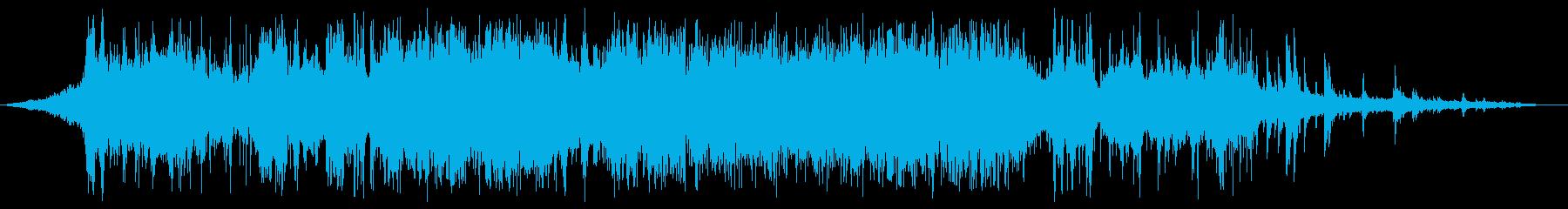 流し台で水を使っている音の再生済みの波形