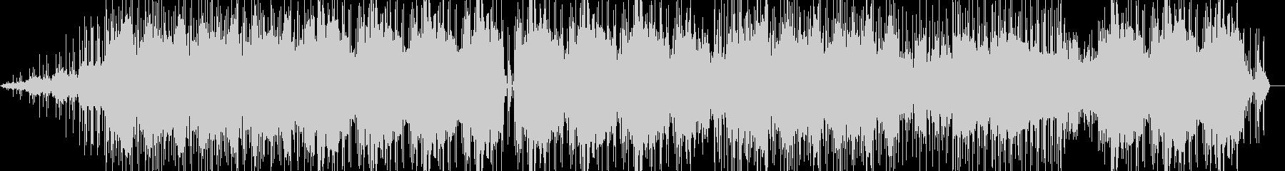 キレイ系ビートの未再生の波形