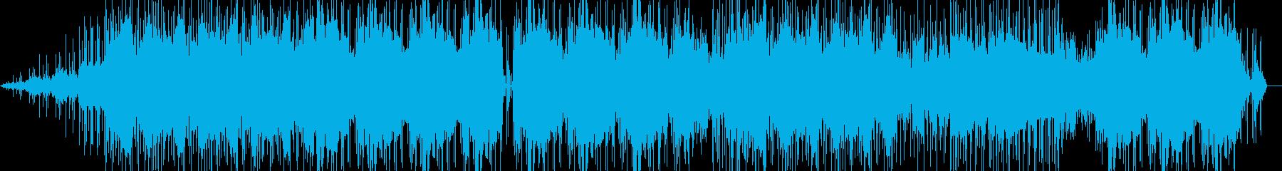 キレイ系ビートの再生済みの波形