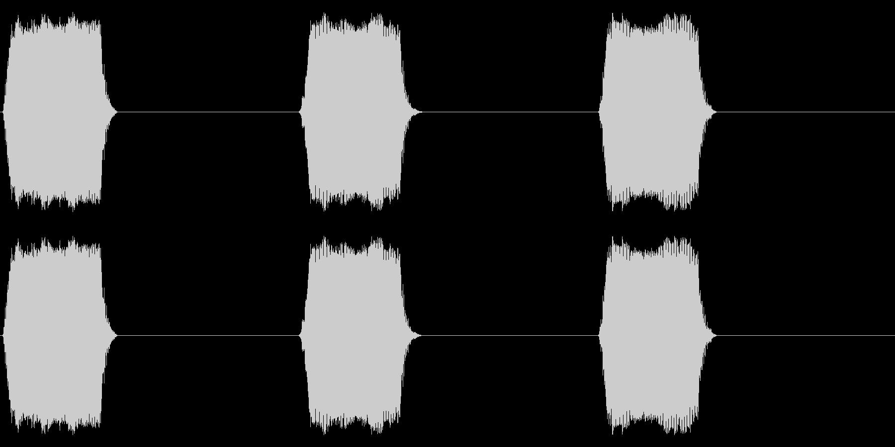 携帯電話 バイブレーション02-05(手の未再生の波形