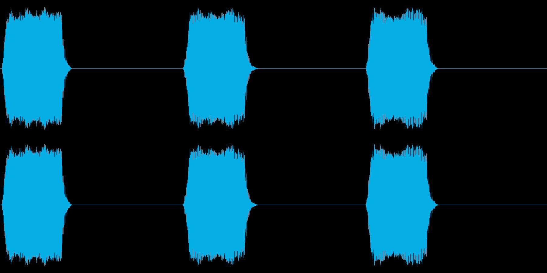 携帯電話 バイブレーション02-05(手の再生済みの波形