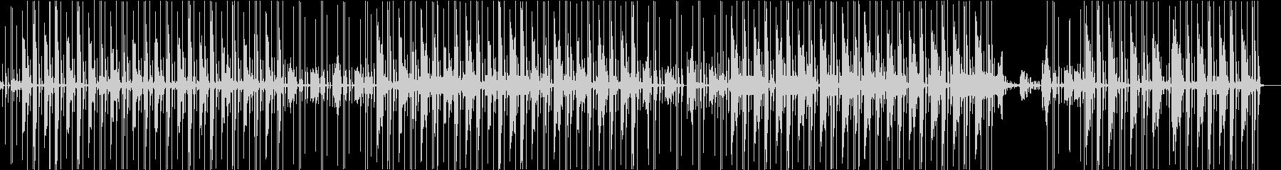 ヒップホップ風エレクトロニックファンクの未再生の波形