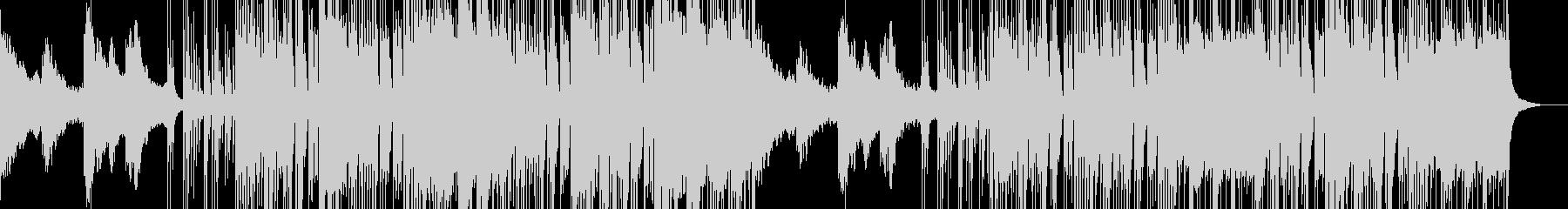 パラレル空間を連想させる恐怖オーケストラの未再生の波形