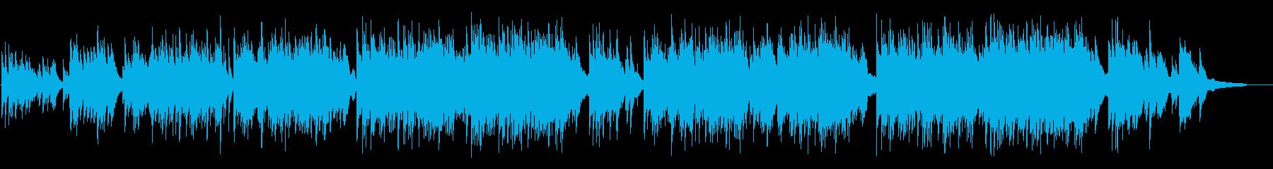 感動的なピアノとアコギ曲 結婚式などにの再生済みの波形