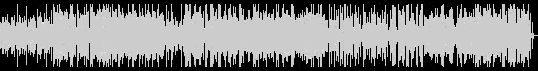 グリッジの効いたノスタルジックなIDMの未再生の波形
