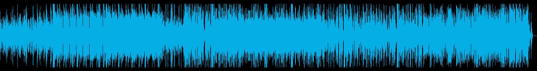 グリッジの効いたノスタルジックなIDMの再生済みの波形