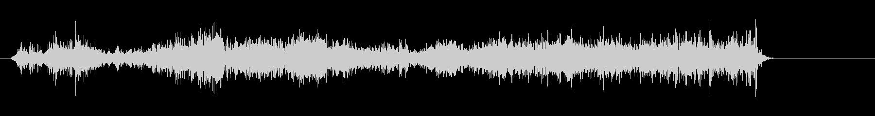 ジリジリ(紙をこする・破る音)の未再生の波形