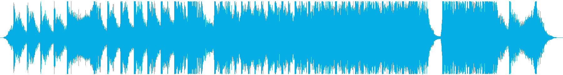Intense Musicの再生済みの波形