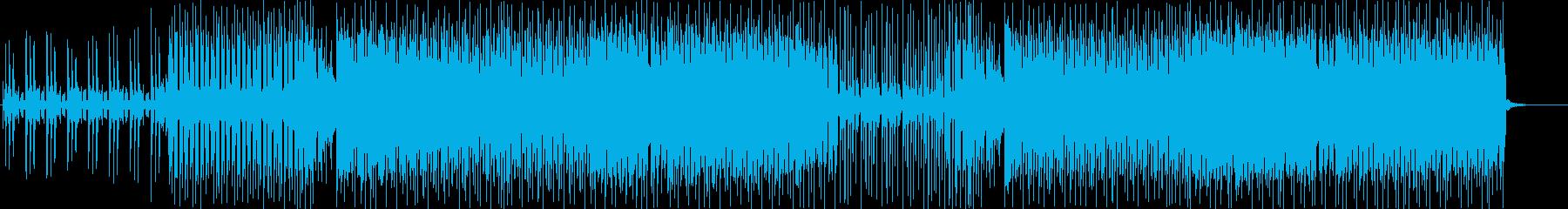 夏・夕日・ビーチ・海・トロピカルハウスの再生済みの波形