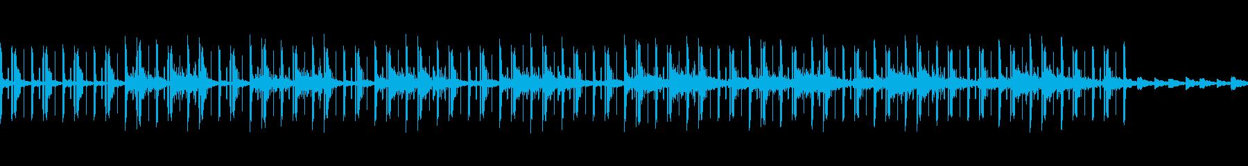 エレクトリックで静かな民族音楽風の再生済みの波形