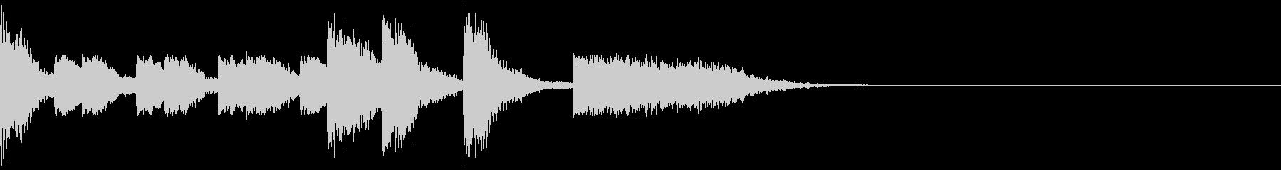 妖怪のサウンドロゴ・歌謡・オープニングの未再生の波形